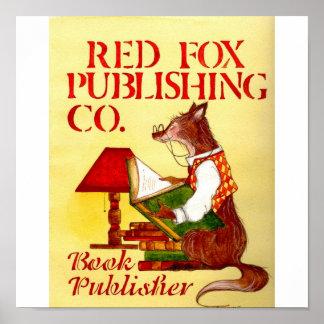 Fox rojo póster