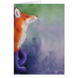 Fox rojo felicitaciones