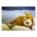 Fox rojo tarjeta