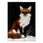 Fox rojo tarjetón