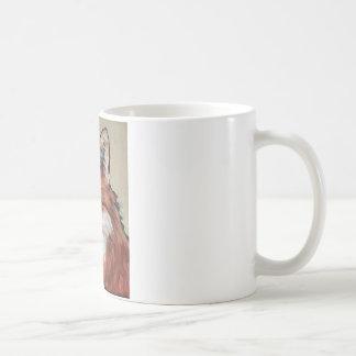 Fox rojo taza de café