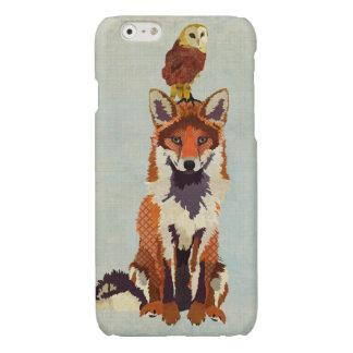 Fox rojo y búho