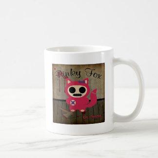 Fox rosado tazas de café