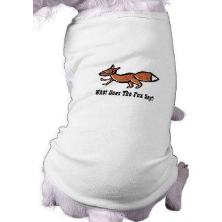 Fox Say (customizable) T-Shirt
