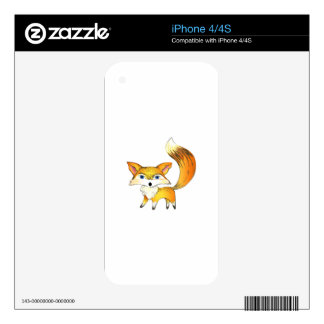 FOX DECAL FOR THE iPhone 4
