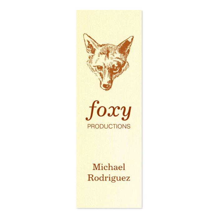 Fox Skinny Card