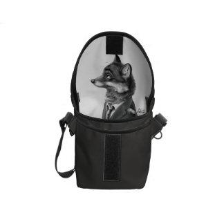 Fox Small Messenger Bag (Profile)