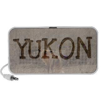 Fox Sniffing the Crocuses; Yukon Souvenir Travel Speaker