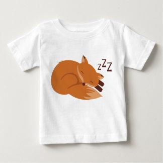 Fox soñoliento t shirt