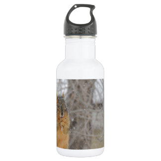 Fox Squirrel Stainless Steel Water Bottle