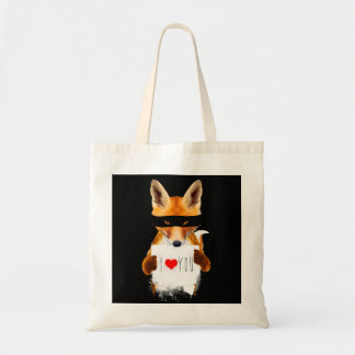 Fox Steal my Heart Tote bag.