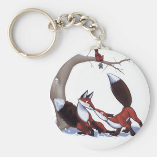 Fox Surprise - Keychain