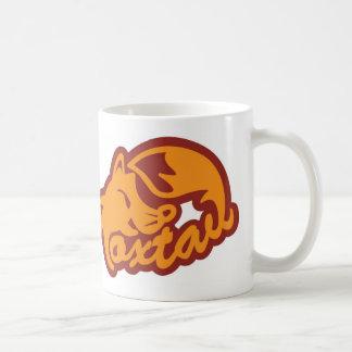 Fox tail coffee mug