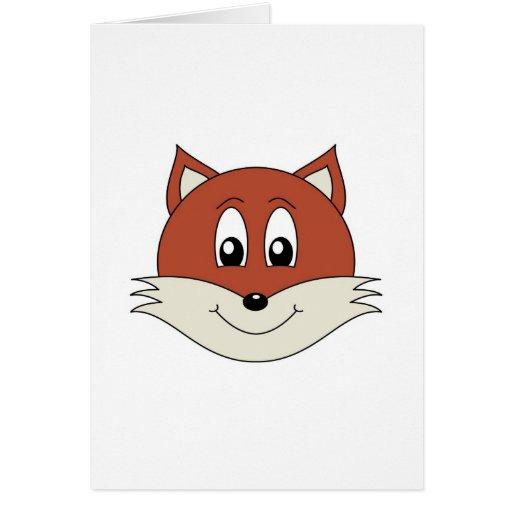 Fox Tarjeta De Felicitación