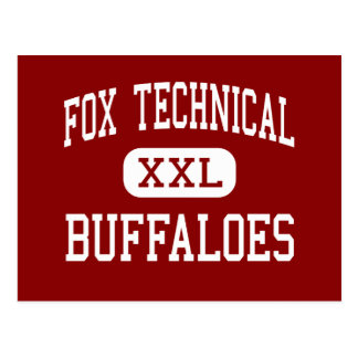 Fox Technical - Buffaloes - High - San Antonio Postcard