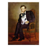 Fox terrier 1 liso - Lincoln Poster