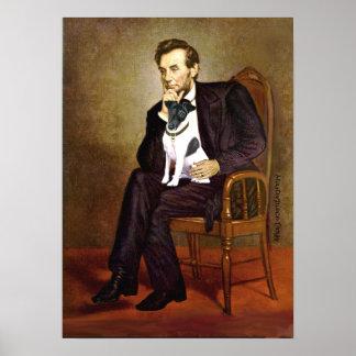 Fox terrier 1 liso - Lincoln Póster