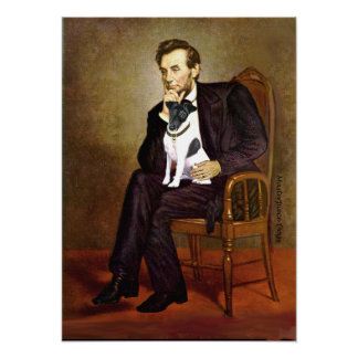 Fox Terrier 1 Smooth -  Lincoln Poster