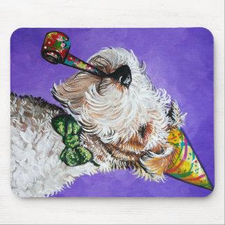 Fox Terrier Birthday Mousepad