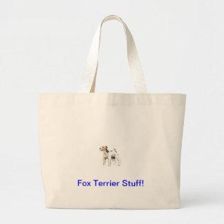 Fox terrier cabelludo del alambre bolsa
