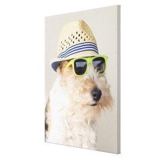 Fox Terrier Canvas Print
