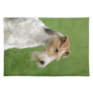 Fox Terrier Cloth Placemat
