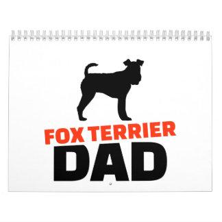 Fox Terrier Dad Calendar