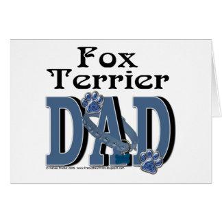 Fox Terrier DAD Card