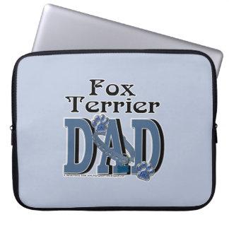 Fox Terrier DAD Laptop Sleeves