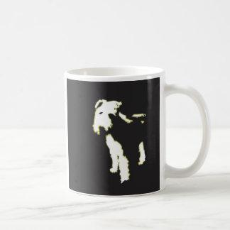 Fox terrier de neón taza clásica