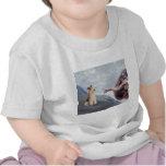 Fox terrier del alambre de P.M.-Dios (m) Camisetas