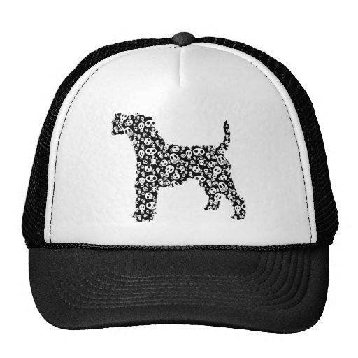 Fox terrier del alambre gorras