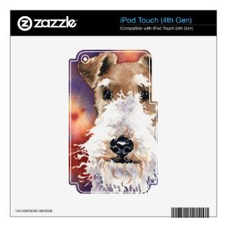 Fox terrier del alambre iPod touch 4G skins