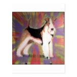 Fox terrier del alambre postal
