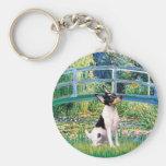 Fox terrier del juguete - puente llaveros personalizados