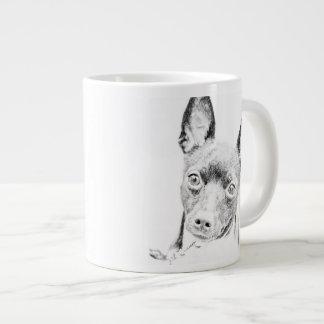 Fox terrier del juguete taza grande