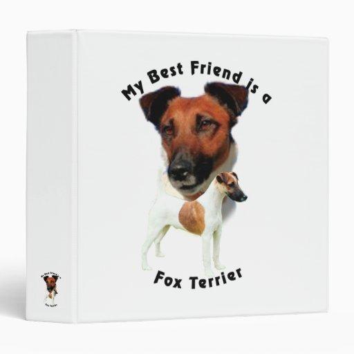 Fox terrier del mejor amigo (rojo/blanco)