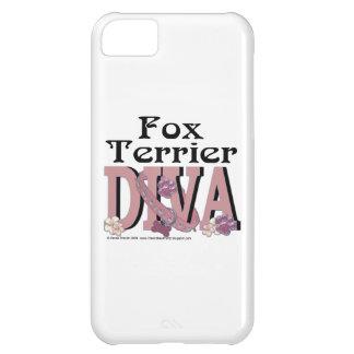 Fox Terrier DIVA iPhone 5C Cover