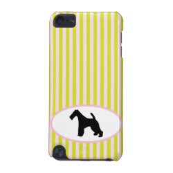 Case-Mate Barely There 5th Generation iPod Touch Case with Wire Fox Terrier Phone Cases design