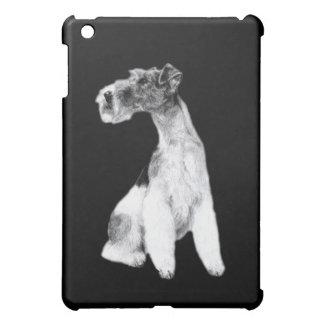 Fox Terrier Drawing iPad Mini Cover