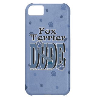 Fox Terrier DUDE iPhone 5C Cases