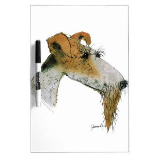 Fox terrier, fernandes tony pizarra blanca