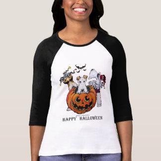 Fox Terrier Halloween Party T-Shirt