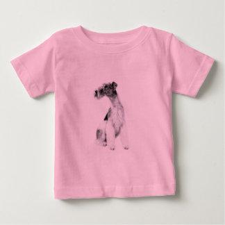 Fox Terrier in Art Baby T-Shirt