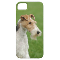 Case-Mate Vibe iPhone 5 Case with Wire Fox Terrier Phone Cases design