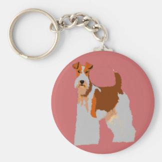 Fox Terrier Keychain