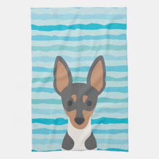 Fox Terrier Kitchen Towel