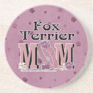 Fox Terrier MOM Coaster