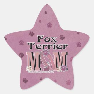 Fox Terrier MOM Star Sticker