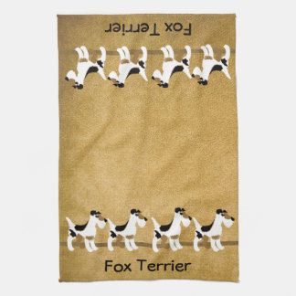 Fox Terrier Muddy Paws Towels